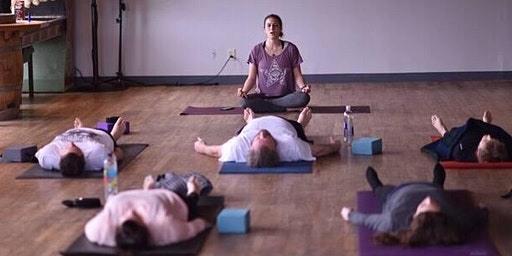 Find Your Balance at Counterweight Brewing (yoga then beer!) on January 18