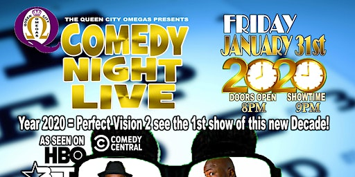 Queen City Omegas Comedy Night