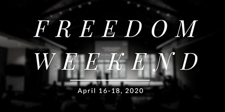 April 2020 Freedom Weekend  tickets