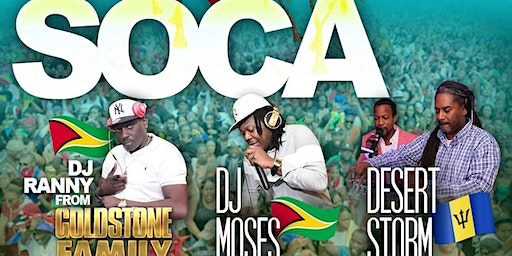 I ❤ Soca Virgina Beach Edition
