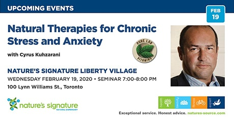 Natural Therapies for Chronic Stress & Anxiety tickets