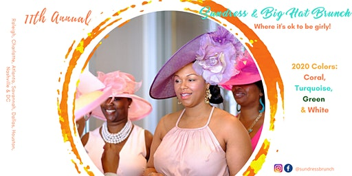 Sundress and Big Hat Brunch 2020 Charlotte, NC