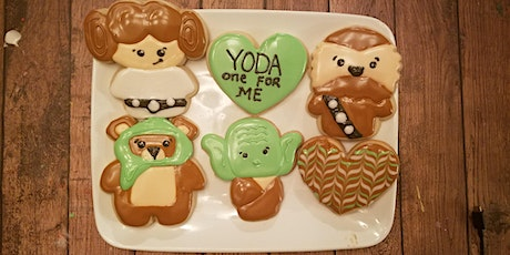 Yoda one for me cookie class tickets
