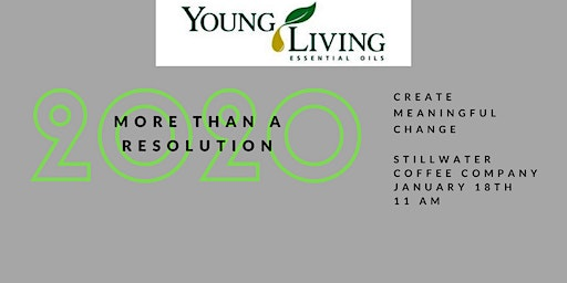 New Year Kickoff with Young Living:  More Than Resolutions