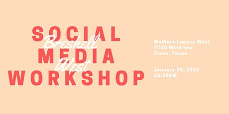 Social Media Workshop tickets