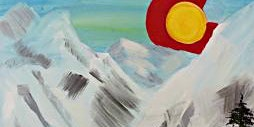 Paint Wine Denver Colorado Rising Wed Feb 19th 6:30pm $35