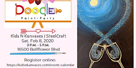 Doodle Paint Party - SteelCraft Bellflower tickets