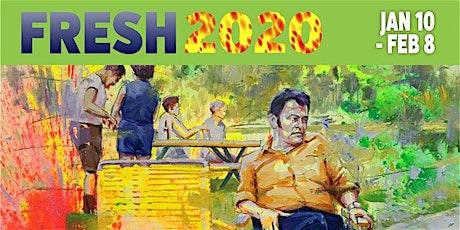 FRESH 2020 Art Exhibition at Summit Artspace on East Market tickets