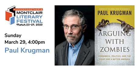 Book Talk – Paul Krugman with Bill Moyers: Arguing with Zombies tickets