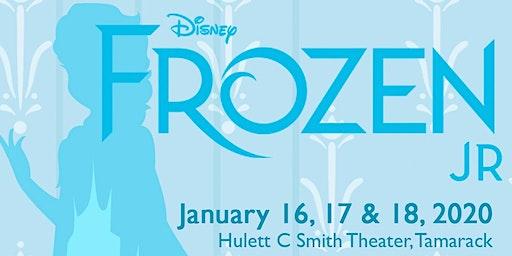 Beckley Art Center's Production of Frozen Jr.