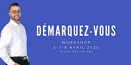 Démarquez-vous Workshop avec Frédérik Bonneau billets