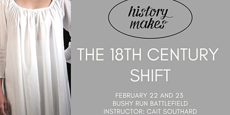 History Makes: The 18th Century Shift tickets