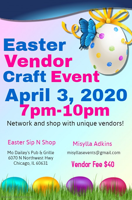 Mo Dailey's Easter Sip N Shop