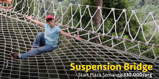 Open Trip Suspension Bridge, Sukabumi