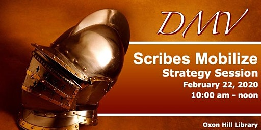 DMV Scribes Mobilize - February Strategy Session