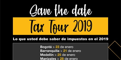 Tax Tour 2020 - Crowe Colombia entradas