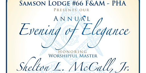 SAMSON LODGE #66's EVENING OF ELEGANCE CELEBRATION