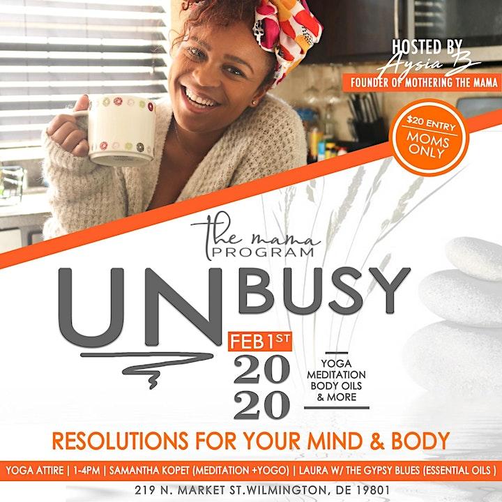 UNbusy image
