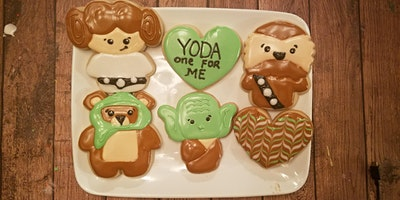 Yoda one for me cookie class 2/15
