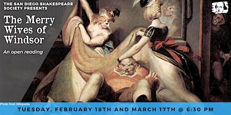 Monthly Shakespeare Reading – Escondido tickets
