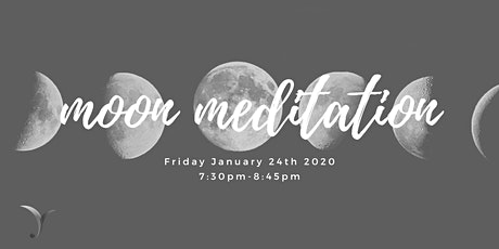 Moon Meditation at Yew Tree Yoga tickets