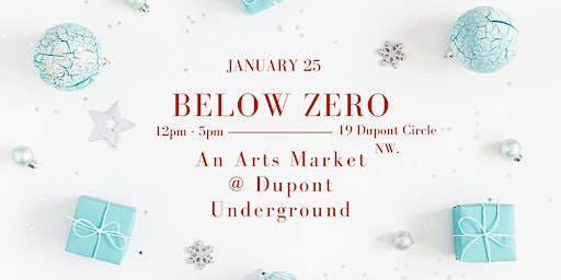 Below Zero, an Arts Market