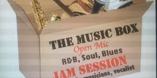Free 2020 Music Box  Open mic Jam Session. For musicians by musicians