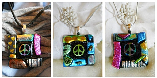 Peace Love & Wine Necklace Workshop Wyandotte Modern Craft Wine