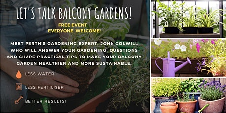 Let's Talk Balcony Gardens tickets