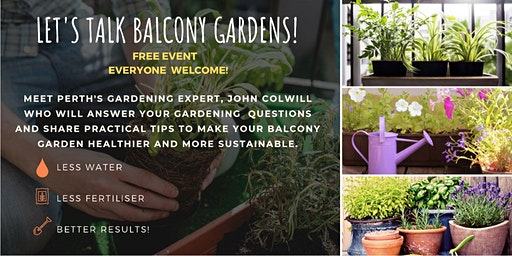 Let's Talk Balcony Gardens