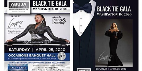 Abuja Country Club Black Tie Gala 2020 tickets