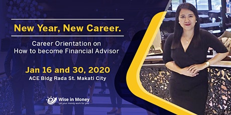 Career Orientation for Financial Advisor tickets