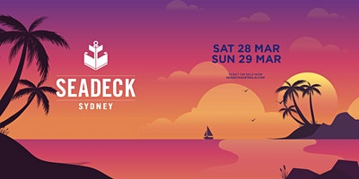 Seadeck Sunset Cruise – Sat 28th March