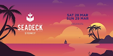 Seadeck Sunset Cruise - Sat 28th March tickets