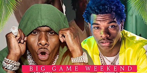 Da Baby and Lil Baby Miami Superbowl Weekend Day Party at Wynwood Factory