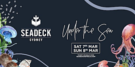 Seadeck Sunset Cruise - Sat 7th March tickets