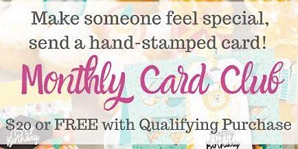 April Card Club
