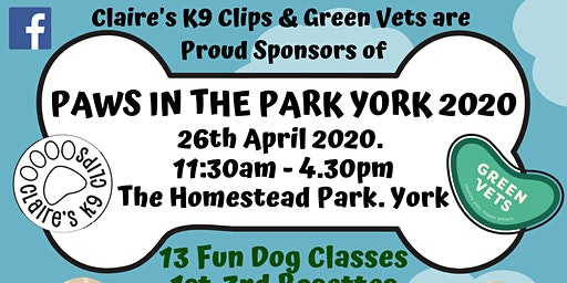Paws in the Park York 2020