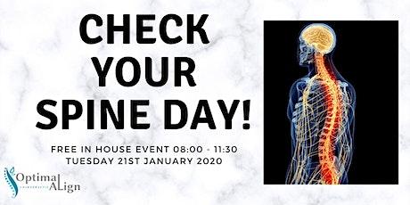 Free Posture Screening Day tickets