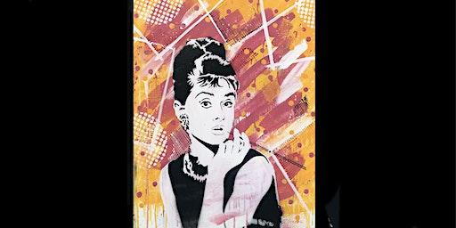 Audrey Paint and Sip Brisbane 15.2.20