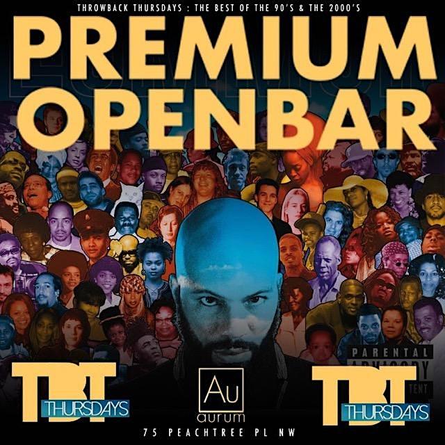 TBT Thursdays @ Aurum Lounge