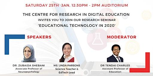 Research Seminar on Digital Education
