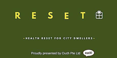 Reset Workshop tickets