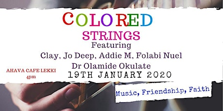 COLORED STRINGS tickets
