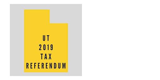 Cedar City Signing  for Utah Tax Referendum