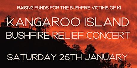 KANGAROO ISLAND Bushfire Relief Concert tickets