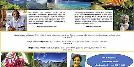Conérence sur LES MEMOIRES AKASHIQUES avec Don Ernesto ORTIZ et Tina HELLINGRATH billets