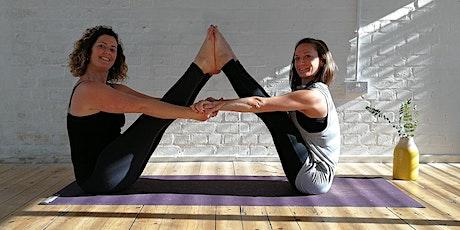 Yoga + Mandala Drawing Workshop with Tapas! tickets