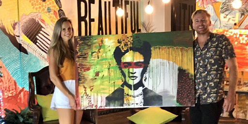 Frida Kahlo Paint and Sip Brisbane 7.3.20