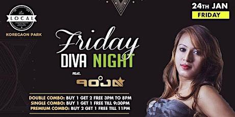 Friday Diva Night - DJ Pooja tickets
